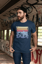 ULTRABASIC Men's Novelty T-Shirt Waikiki Surfing Tee Shirt