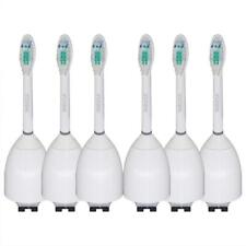 6 Toothbrush Heads for Philips Sonicare Toothbrush e Series Essence Xtreme Elite