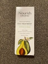 Avocado & Argan Eye Treatment, Nourish, 0.5 oz