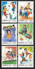 CHINA 2017-13 CHILDREN'S SPORTS AND GAMES, set of 6 stamps