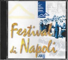 """F. SALVATORE  E. BENNATO  A.ONORATO  - RARO CD """" FESTIVAL DI NAPOLI 1 """""""