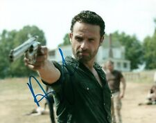 Andrew Lincoln Rick Grimes The Walking Dead Signed 8x10 Photo COA 8 Proof Look