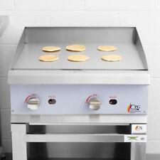 "24"" Natural Gas Commercial Restaurant Kitchen Countertop Griddle"