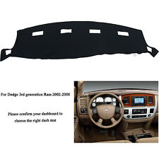 For DODGE RAM 1500 2500 3500 2002-2008 Dashmat Dashboard Mat Dash Cover Carpet