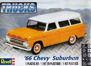 Revell 1:25 14409 1966 Chevy Suburban - NEU!