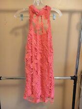 NEW Pretty Lace Pink Free People Women Dress Size M