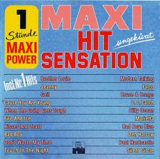 """Maxi Hit Sensation CD 86:12""""Mixes:Modern Talking,Falco,Bruce&Bongo,Silent Circle"""