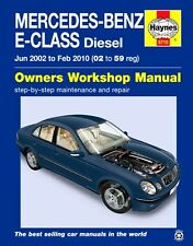 Mercedes Benz E Class Repair Manual Haynes Manual Workshop Manual 2002-2010