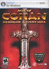 AGE OF CONAN Hyborian Adventures MMO RPG PC Game NEW BX