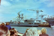 12x Old 35mm Negatives.Royal Navy Ships In Plymouth Harbour & Plymouth Bay.1970'