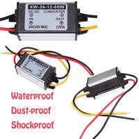 Waterproof 24V To 12V 5A 60W DC/DC Converter Regulator WOW