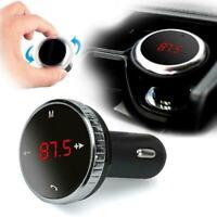 Wireless Bluetooth FM transmitter modulator car kit player control remote F5C9