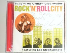 """CD by EDDY """"THE CHIEF"""" CLEARWATER """"ROCK 'N' ROLL CITY"""" SIGNED BY EDDY CLEARWATER"""