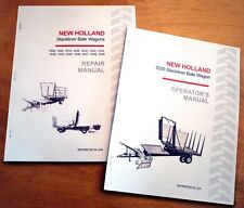 New Holland 1030 StackLiner Bale Wagon Operator's and Service/Repair Manual