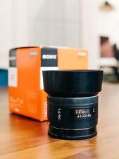 Sony SAL 50mm f/1.4 AF Lens A-mount Minolta autofocus prime bokeh portrait