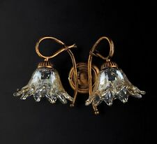 Applique Wall Lamp Classic Wrought Iron Rustic Art Poor Gold