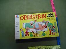 Vintage 1965 MB Operation board game Buzzer WORKS Nose lights up