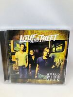 Love and Theft World Wide Open CD