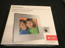 "Brookstone 8"" Frame Digital Picture Show - Brand New"