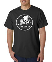 USN Navy SEABEES T-Shirt Militray Armed Forces COMBAT WE BUILD WE FIGHT USA
