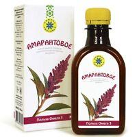 Amaranthöl 200ml Leinsamenöl Leinöl kaltgepresst Natür BIO-Produkt Amaranth oil