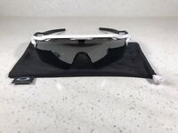 *New* OAKLEY Radar EV OO9208-9438 White Frames W/Grey Prizm Polarized Sunglasses