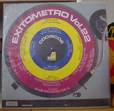 EXITOMETRO VOL.22 COLOMBIA  PRESS  LP  FAMOSO 1982
