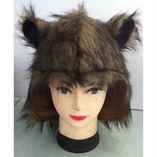 Brown fur animal hood ~ Bear ~ Mouse ~ Werewolf ~ Cat