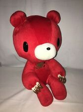 Mori Check Gloomy Bear Bloody Red Jumbo Plush Doll GP pony Canyon 14""