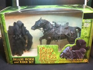 The Lord Of The Rings - RINGWRAITH and HORSE - Toybiz Action Figures 2011 VGC!