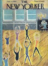 1960 Ilonka Karasz ART COVER ONLY Ballet rehearsal class