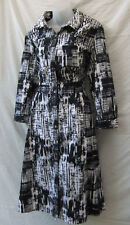 Resort Report Dress Size 16-18 NEW Cotton Long Sleeve Work Smart Casual Evening