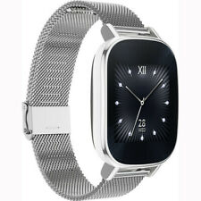 ASUS ZenWatch 2 Smart watch HyperCharge SIlver Case, Silver Metal Band WI502Q-SM