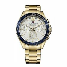 Tommy Hilfiger Mens Luke Gold Tone 1791121 Watch