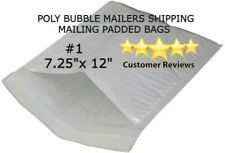 New Listing1 725x12 Poly Bubble Padded Envelopes Mailers Shipping Case 10 1000 Per Case
