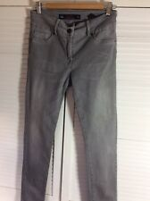 Next Lift And Shape Grey Skinny Fit Ladies Jeans Size 10 R