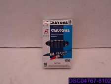 Qty = 256 Crayons (16 Packs x 16): Beifa A+ Crayons Rcy003-16