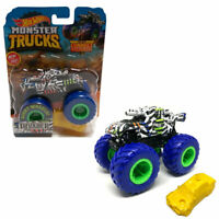 2019 Hot Wheels Monster Truck INVADER Giant Wheels w Connect n Crash