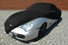 Photo Pattern softgarage Indoor Stretch Black Porsche 911 997 991 992 Car Cover