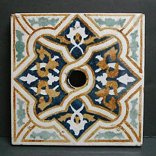 Malibu California Vintage Tile with Center Hole