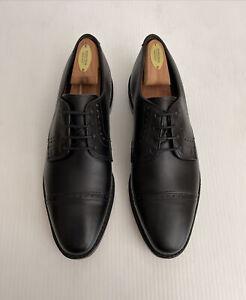 NEW Allen Edmonds 'Clifton' Blucher Cap Toe Oxford - Black - 9.5 D (A65)