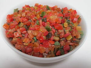 Glace and candied fruit mix 2 LBS bag-Green Bulk Extra 5% buy $100+