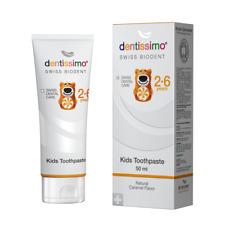 Gel-Zahnpaste für Kinder 2-6 Jahre 50ml - DENTISSIMOSWISS BIODENT