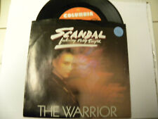 45 Record Scandal,The Warrior,Near Mint with PS