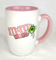 M&Ms World Exclusive Green M&M Susan G. Komen Pink Coffee Cup/Mug