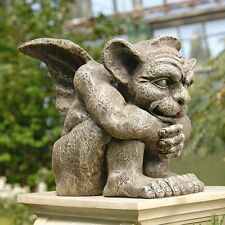 Historic Medieval Gargoyle Statue  LARGE Gothic Protector Sculpture NEW