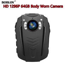 PD70 1296P 32GB 64GB Body WiFi Camera Audio Recording 2200mAh Battery 1pcs