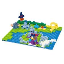 Kawada Dragon Quest Nanoblock Puzzle Block Dragon King Castle Square Enix Japan