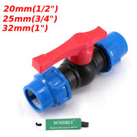 20mm-32mm Irrigation PE pipe fast black blue hat water pipe valve switch valve