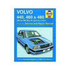Volvo 440 460 480 1.6 1.7 1.8 2.0 Petrol 87-97 (D to P Reg) Haynes Manual
